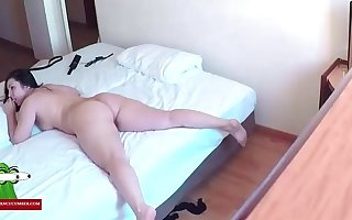 Hidden cam in a hotel room. RAF303