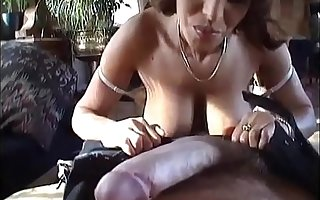Hairy milf with big tits groove on anal sex