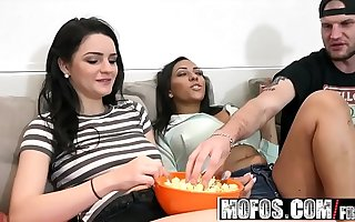 Mofos - Real Slut Party - Big Tits Big Takings Foursome starring Kacey Quinn and Priya Price