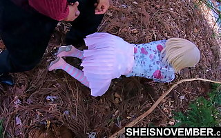 4k Display Family Time With StepDaughter Msnovember Innocent Pussy, Lured Into Forest For Sex, I Cumshot Her Cute Chunky Ebony Arse With BBC, Unsystematically Lick Her Pussy Making Her Spew Female Orgasm Far Public, Stepdad Taboo Fuck on Sheisnovember With JDG Pornart