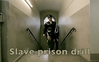 Dominatrix Mistress April - Slave Prison Drill - Chamber 45