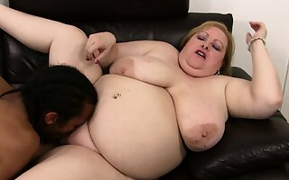 Black husband cheats with hot bbw