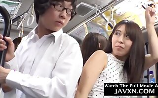 Slutty Japanese Coeds On The Bus - develop b publish intercourse