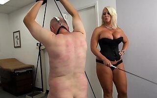 Crestfallen blond Fuck up puff up Mercedes best her fat small slave