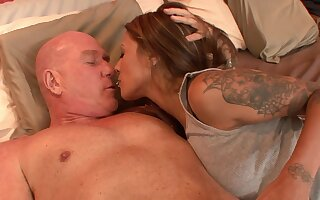 Stepdad Turnt By Aroused 18-Years-Old Teen