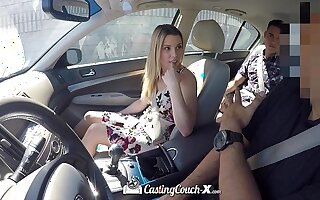 CastingCouch-X - Aubrey Sinclair first porn audition with CCX