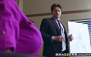 Brazzers - Broad in the beam Tits readily obtainable Work - Priya Price and Preston Parker -  Good Executive Fucktions